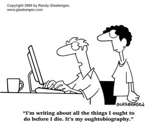 cartoon. ought-to-biography